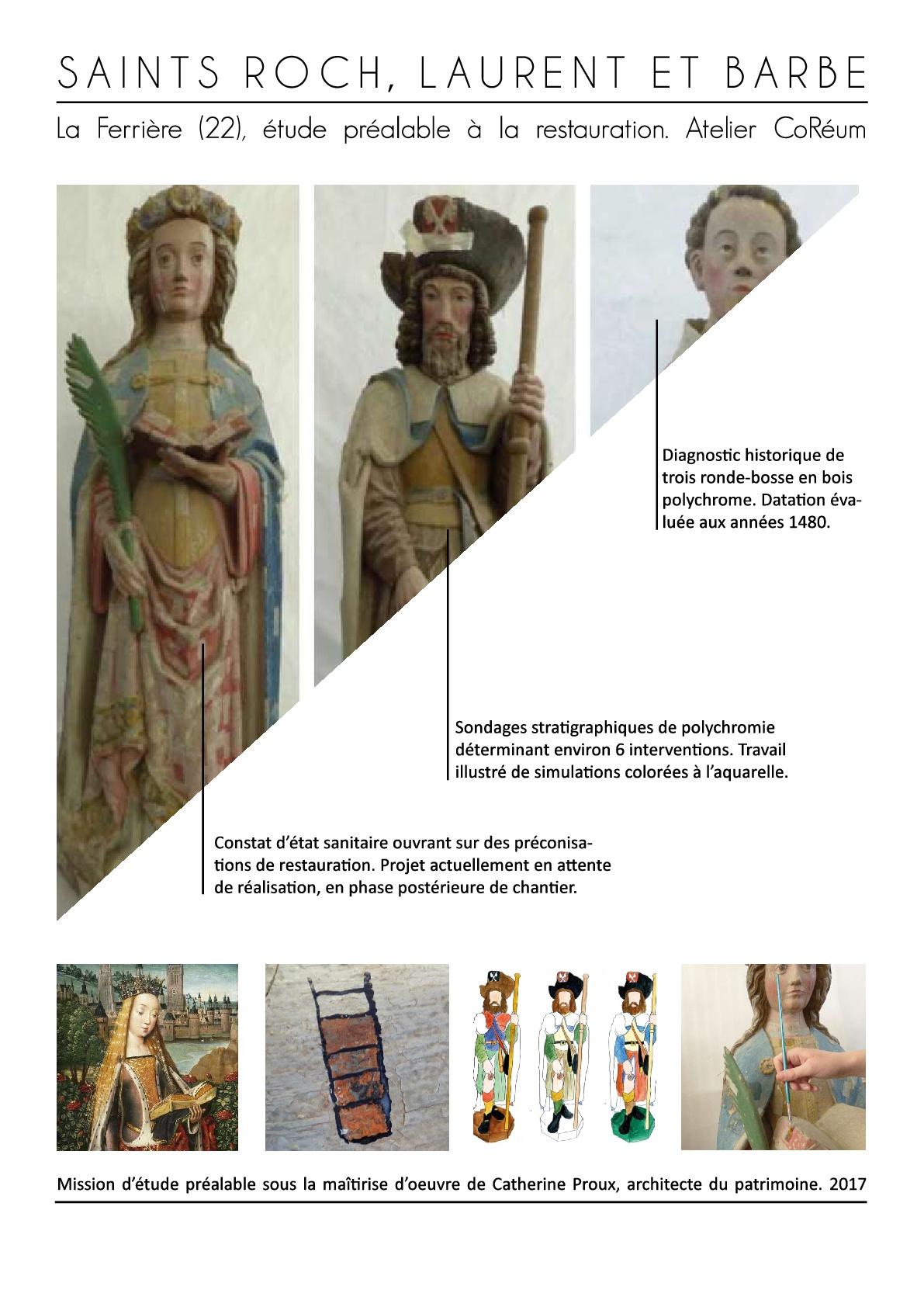 etude patrimoine mobilier objet art sculpture statue coreum monument expertise